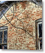 House Two Windows 13089 Metal Print