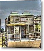 Houseboat 3 Metal Print