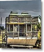 Houseboat Metal Print