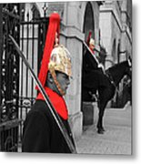 Household Cavalry Guards  Metal Print