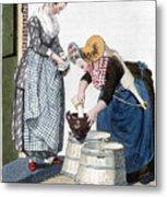 Housewife, 1811 Metal Print