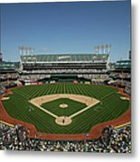 Houston Astros V Oakland Athletics Metal Print