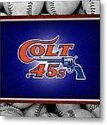 Houston Colt 45's Metal Print by Joe Hamilton
