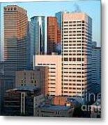 Houston Financial District Metal Print