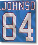 Houston Oilers Billy Whiteshoes Johnson Metal Print
