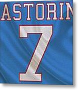 Houston Oilers Dan Pastorini Metal Print