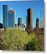 Houston Skyline, Houston, Texas Metal Print