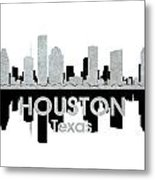 Houston Tx 4 Metal Print by Angelina Vick