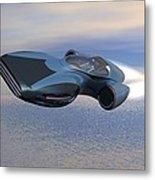 Hover Car Metal Print