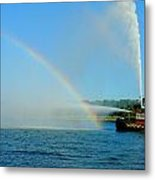 How To Build A Rainbow Metal Print
