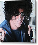 Howard Stern - Radio King Metal Print