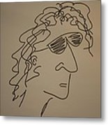 Howard Stern Metal Print