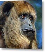 Howler Monkey Metal Print