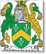 Howman Coat Of Arms Irish Metal Print