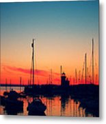 Howth Sunset Metal Print