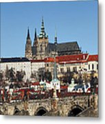 Hradcany - Prague Castle Metal Print