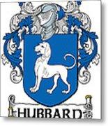 Hubbard Coat Of Arms Cork Ireland Metal Print
