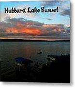 Hubbard Lake Metal Print
