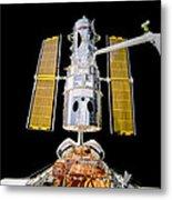 Hubble Space Telescope Redeployment  Metal Print