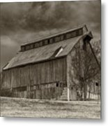 Huber Ferry Barn Osage County Mo Dsc00720 Metal Print