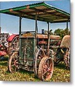 Huber Tractor Metal Print