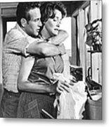 Hud, From Left, Paul Newman, Patricia Metal Print