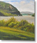 Hudson River At Cold Spring Metal Print