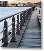 Hudson River Park Metal Print by JC Findley