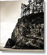 Hug Point Oregon No. 1 Metal Print