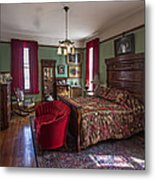 Huguette Clark's Bedroom -- Butte Montana Metal Print