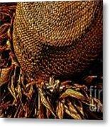 Hula Hats 7 Metal Print