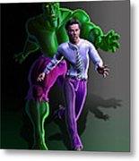 Hulk - Bruce Alter Ego Metal Print