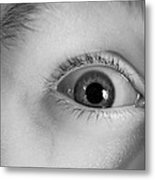 Human Eye, Infrared Image Metal Print