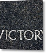Human Rights Victory Metal Print