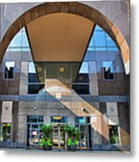 Humana Building II Metal Print by Steven Ainsworth
