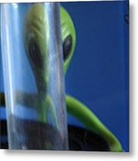 Aliens Stink At Hide And Go Seek Metal Print