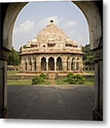 Humayuns Tomb, India Metal Print
