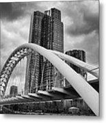 Humber River Arch Bridge 1392 Metal Print