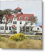 Humboldt Bay Coast Guard Station Metal Print
