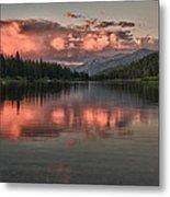 Hume Lake Sunset Metal Print