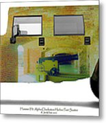 Hummer H1 Alpha Fort Sumter Interior Metal Print