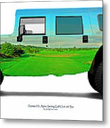 Hummer H1 Alpha Stirling Golf Club 6th Tee Metal Print