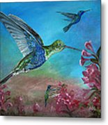 Hummers For A Friend Metal Print