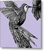 Hummingbird Flight 10 Metal Print