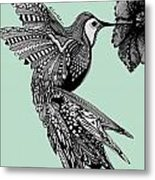 Hummingbird Flight 14 Metal Print