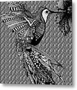 Hummingbird Flight 20 Metal Print