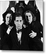 Humphrey Bogart In The Black Legion 1937 Metal Print