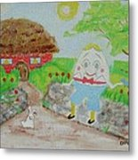 Humpty's House Metal Print