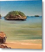 Hundred Islands In Philippines Metal Print