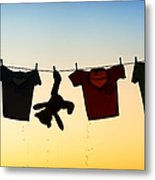 Hung Out To Dry Metal Print by Tim Gainey